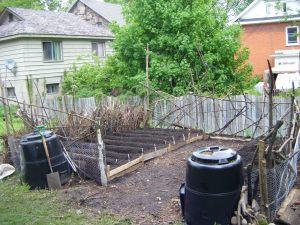 The Urban Farmers Company spring 2011 garden